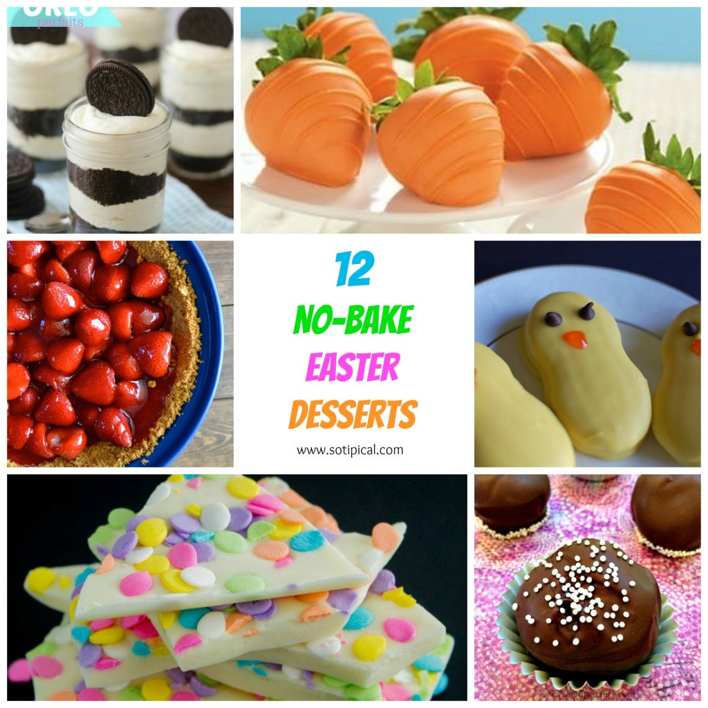 Dessert For Easter  12 No Bake Easter Desserts