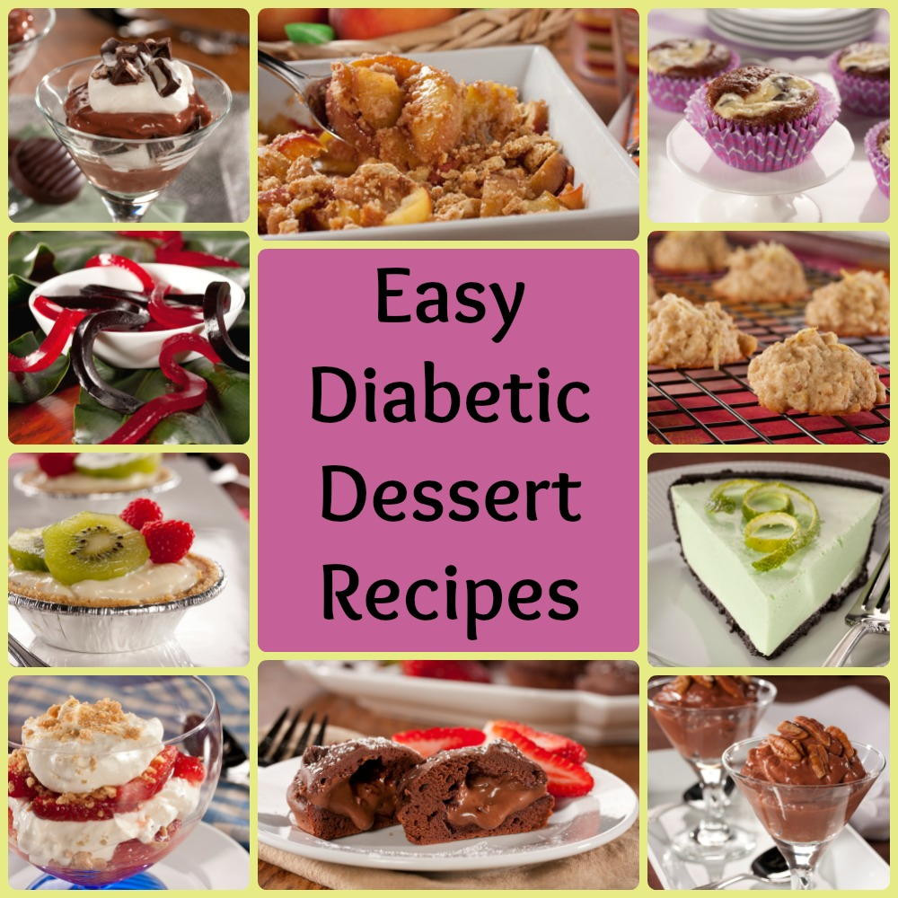 Dessert Recipes For Diabetics Sugar Free  32 Easy Diabetic Dessert Recipes