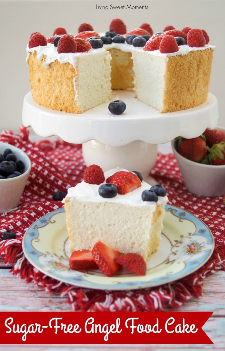 Dessert Recipes For Diabetics Sugar Free  Incredibly Delicious Sugar Free Angel Food Cake Living