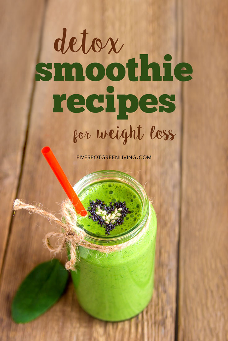 Detox Smoothie Recipes For Weight Loss  10 Detox Smoothie Recipes for Weight Loss