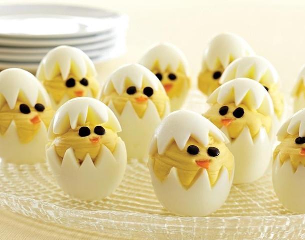 Deviled Eggs Easter Chicks  Pic 2 Deviled Egg Chicks Happy Easter Meme Guy