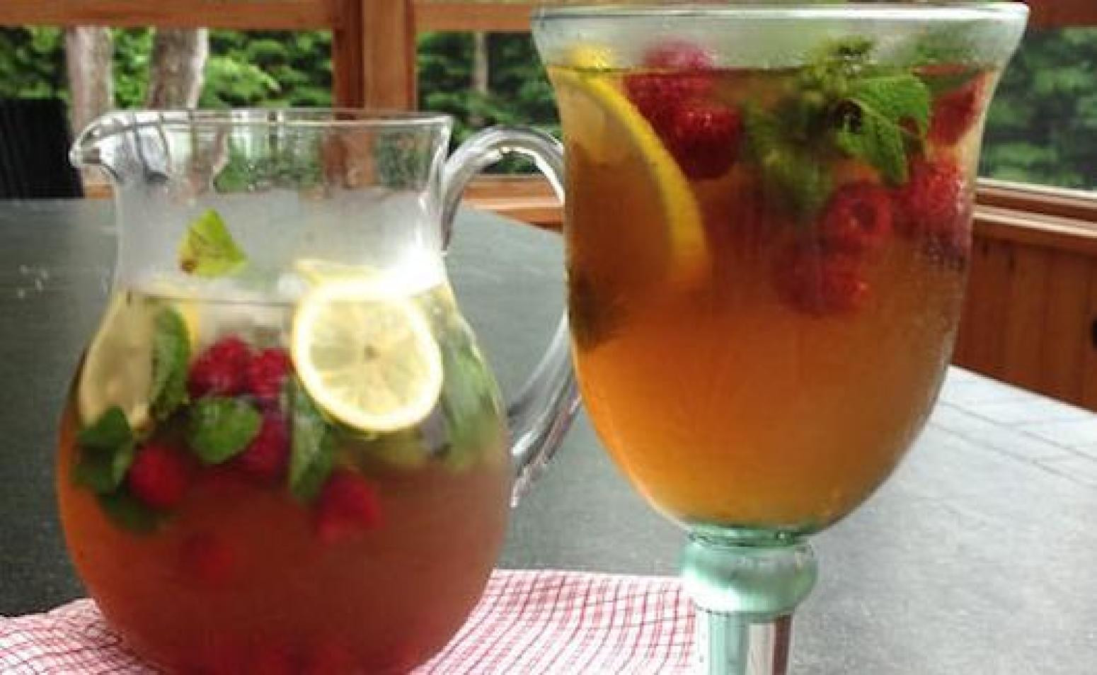 Diabetic Alcoholic Drink Recipes  Diabetic Kind of Moroccan Raspberry Mint Refresher Recipe