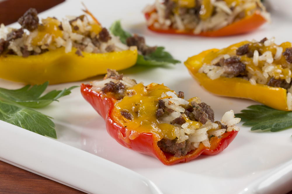 Diabetic Appetizer Recipes  Stuffed Mini Peppers