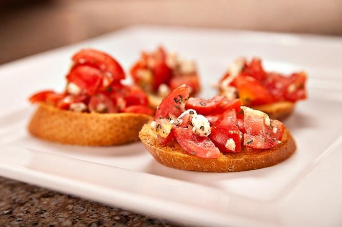 Diabetic Appetizer Recipes  Diabetic Recipe Bruschetta with Feta Cheese Recipes for