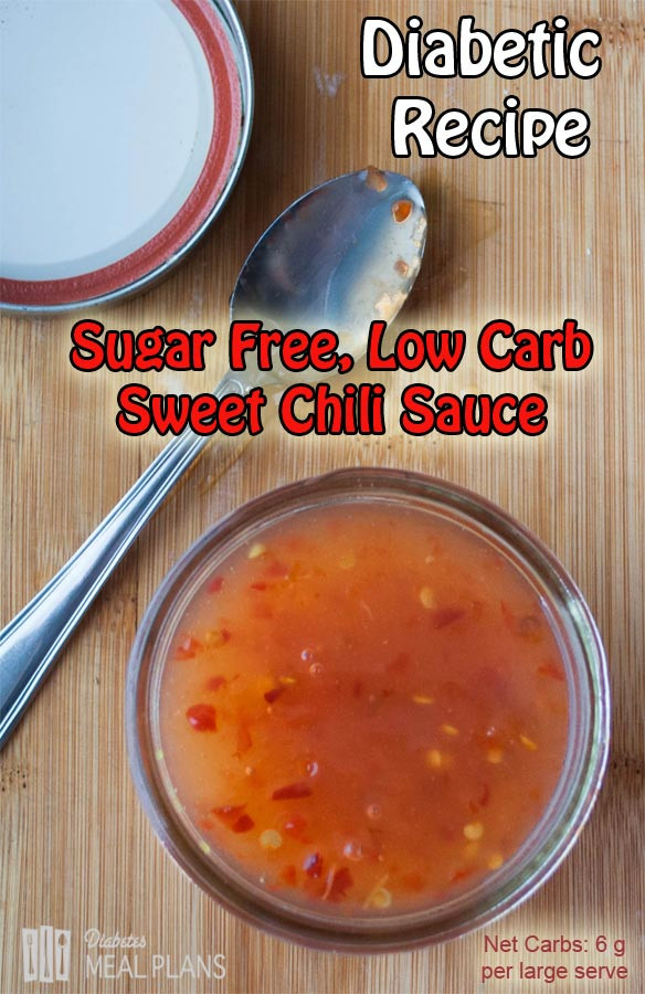 Diabetic Barbecue Sauce Recipes  Sugar Free Sweet Chili Sauce