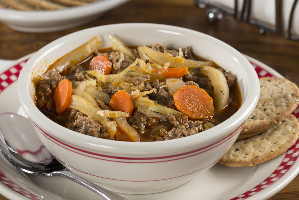 Diabetic Beef Recipes  Easy Hamburger Soup