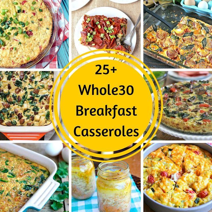 Diabetic Breakfast Casseroles  Best 25 Whole 30 breakfast casserole ideas on Pinterest