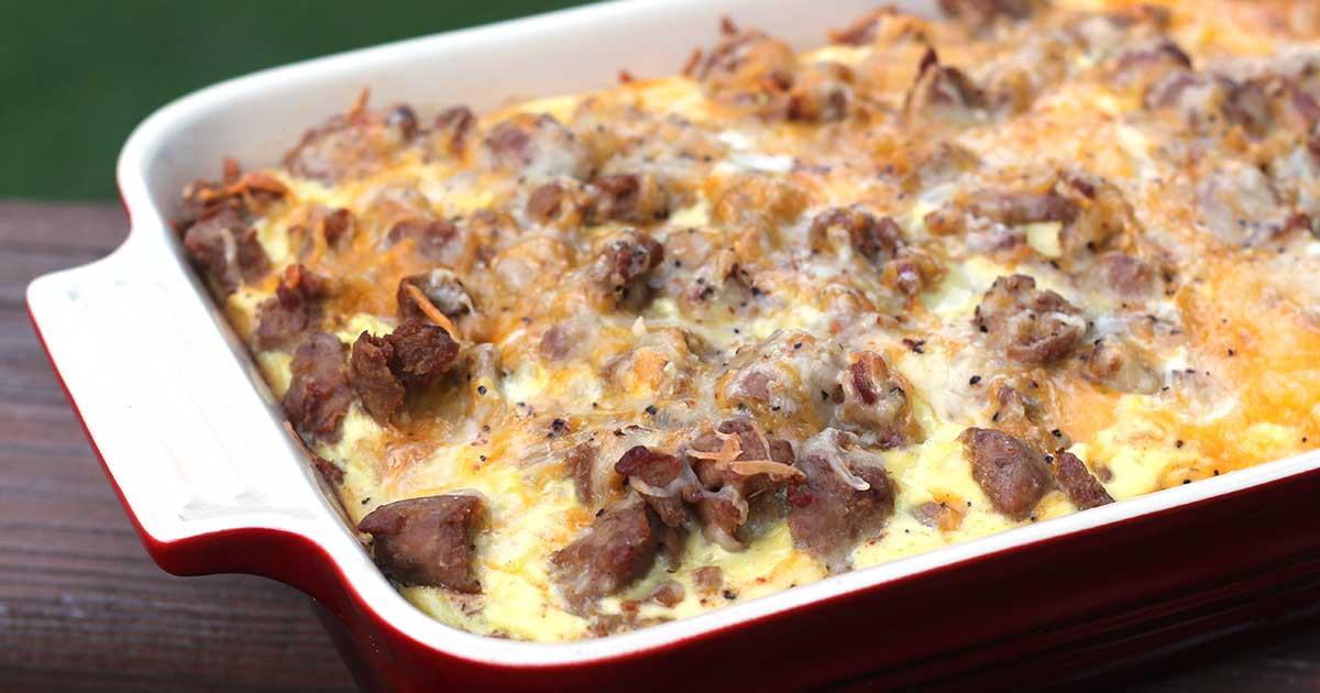 Diabetic Breakfast Casseroles  Turkey Sausage Casserole with Veggie Tots Diabetic Foo
