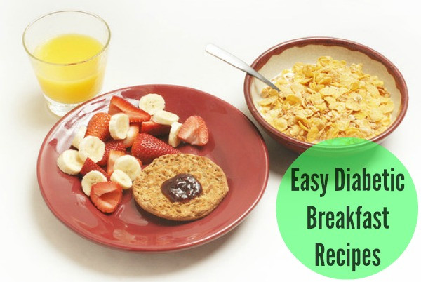 Diabetic Breakfast Recipe  High Blood Sugar Symptoms
