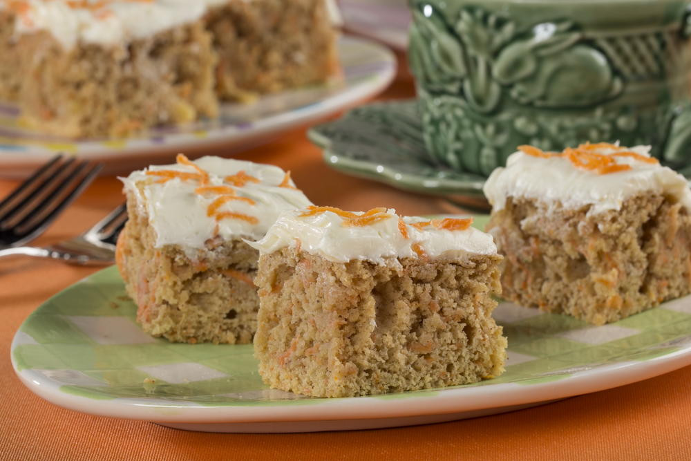 Diabetic Cake Mix Recipes  Carrot Cake