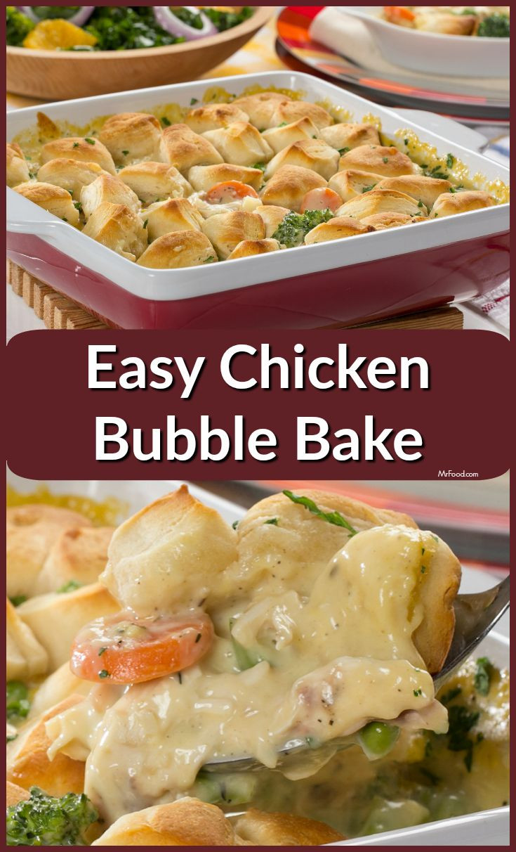 Diabetic Chicken Casserole  Easy Chicken Bubble Bake