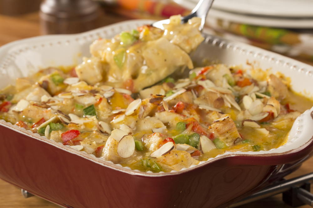 Diabetic Chicken Casserole  Hot Chicken Salad Casserole