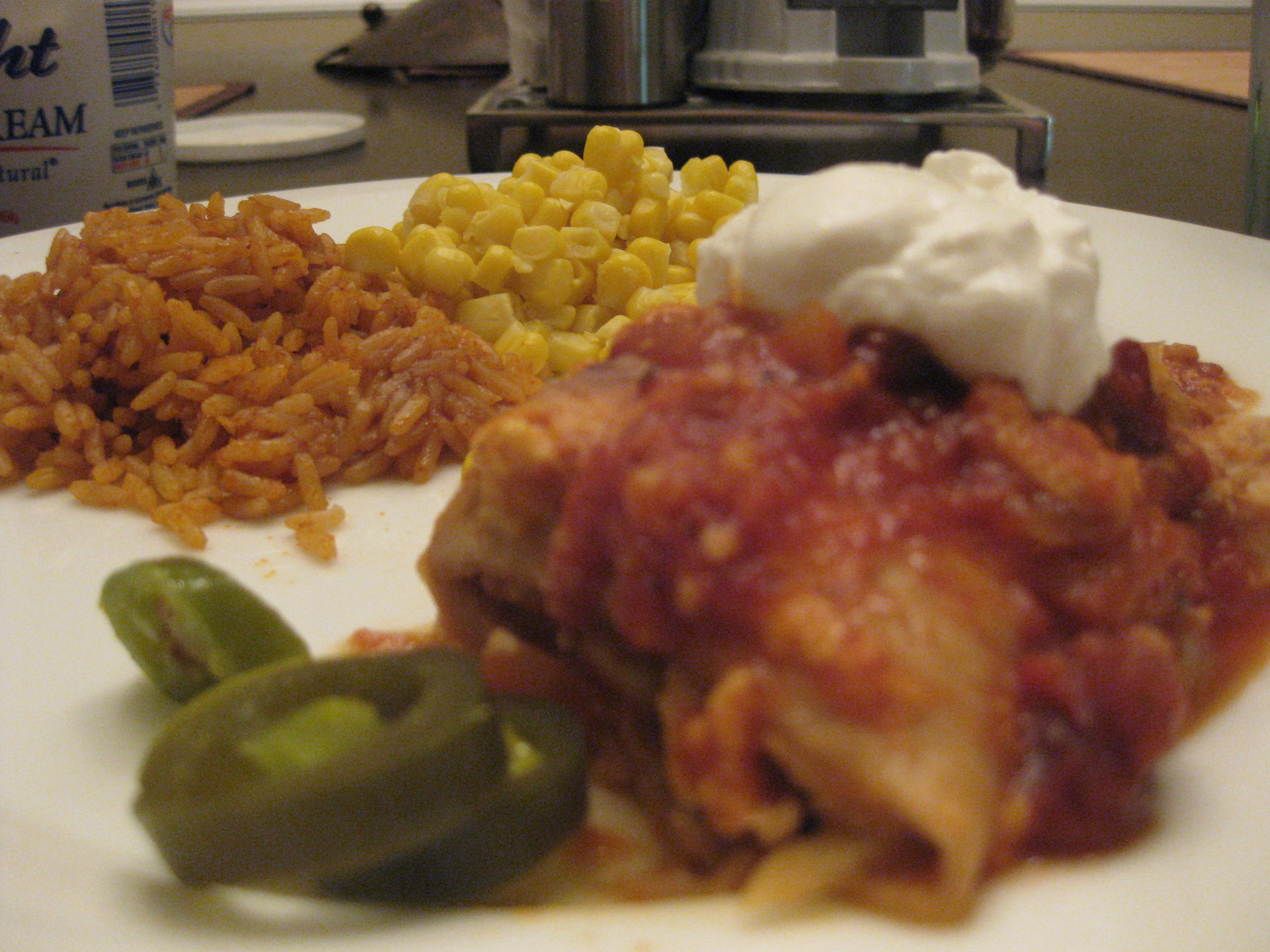 Diabetic Chicken Enchiladas  Chicken Enchiladas & Diabetes