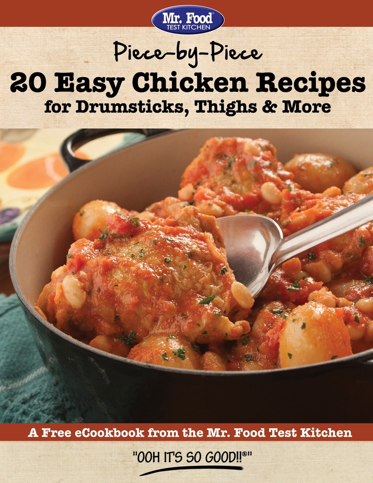 Diabetic Chicken Thigh Recipes  55 best images about mr food cookbooks on Pinterest