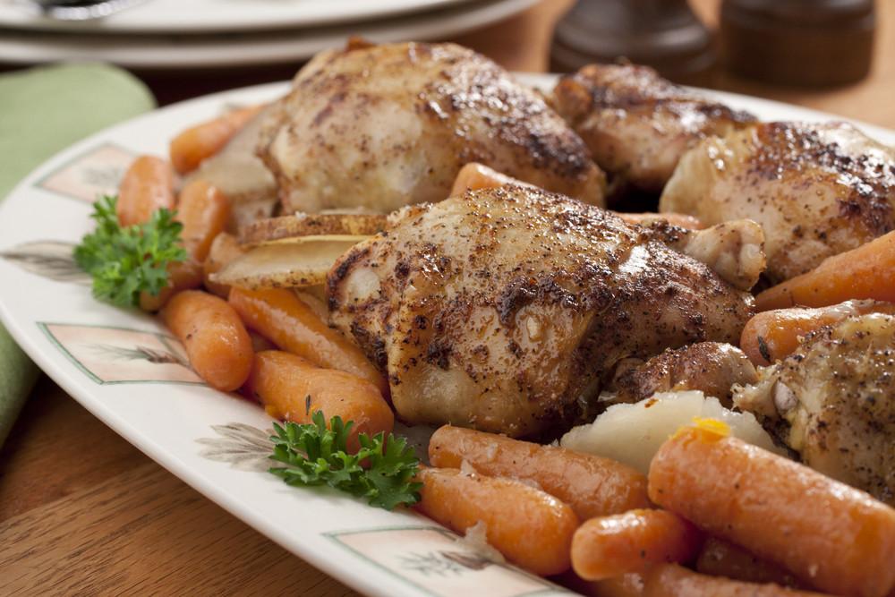 Diabetic Chicken Thigh Recipes  Braised Chicken Thighs Dinner
