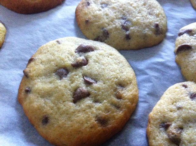 Diabetic Chocolate Chip Cookies  Chocolate Chip Banana Cookies diabetic friendly