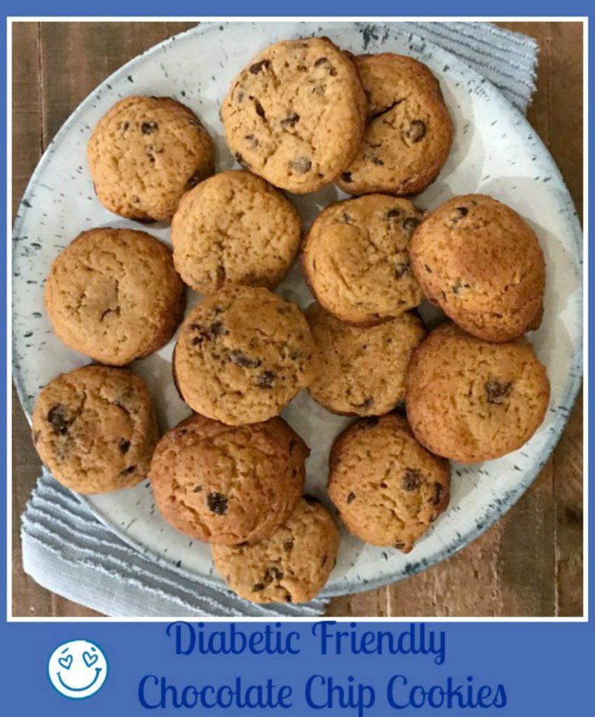 Diabetic Chocolate Chip Cookies Recipe  Delicious Diabetic Friendly Chocolate Chip Cookies Pams