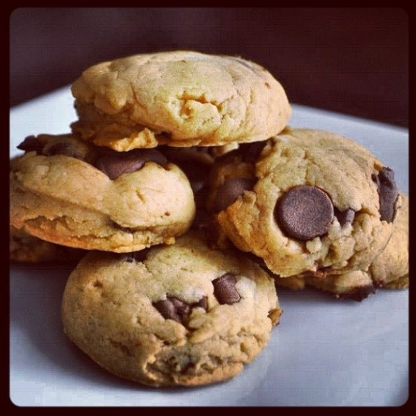 Diabetic Cookie Recipes  Chocolate chip cookies Diabetic friendly