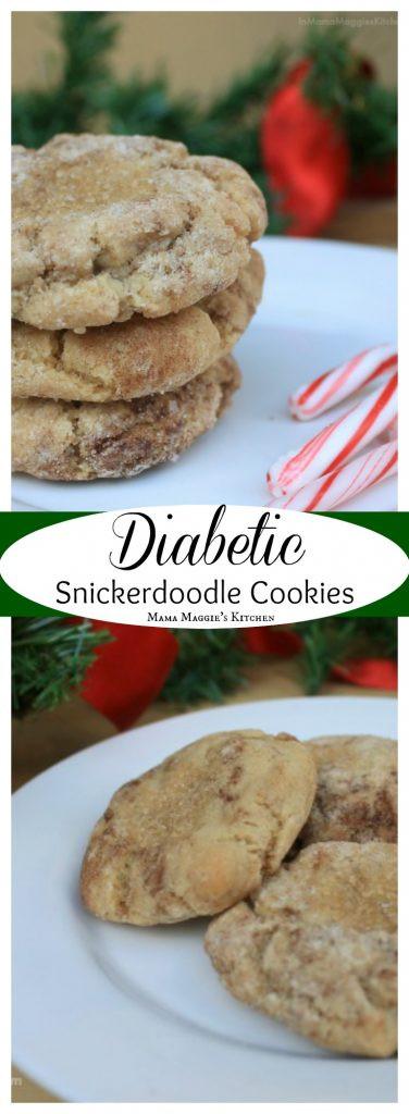 Diabetic Cookie Recipes  Diabetic Snickerdoodle Cookies