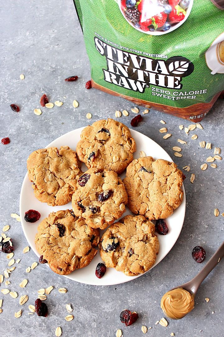 Diabetic Cookie Recipes With Stevia  diabetic oatmeal cookies with stevia