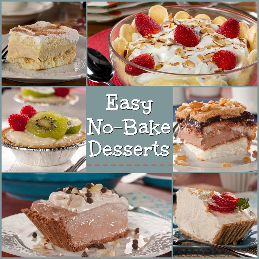 Diabetic Dessert Recipes Easy  Easy No Bake Desserts