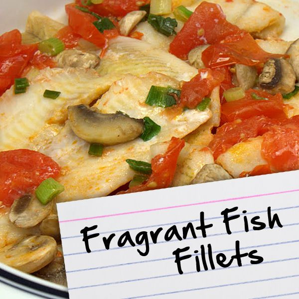 Diabetic Fish Recipes  Recipes for Diabetes Fragrant Fish Fillets