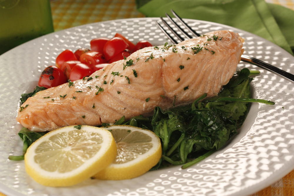 Diabetic Fish Recipes  Salmon Florentine