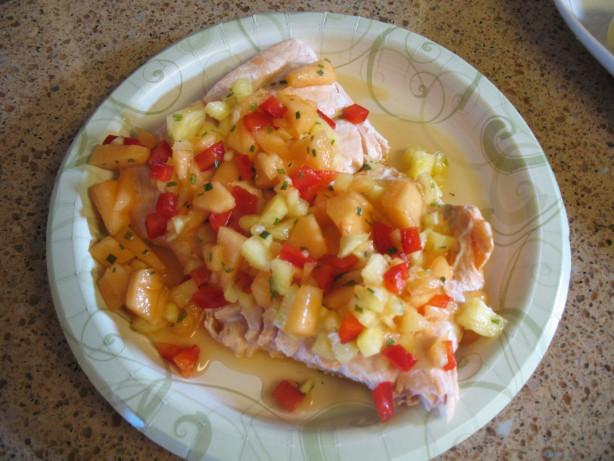 Diabetic Fish Recipes  Salmon With Fresh Fruit Salsa Diabetic Friendly Recipe