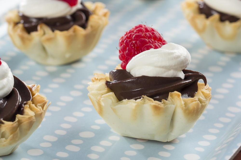Diabetic Friendly Desserts Recipe  Chocolate Dessert Shells