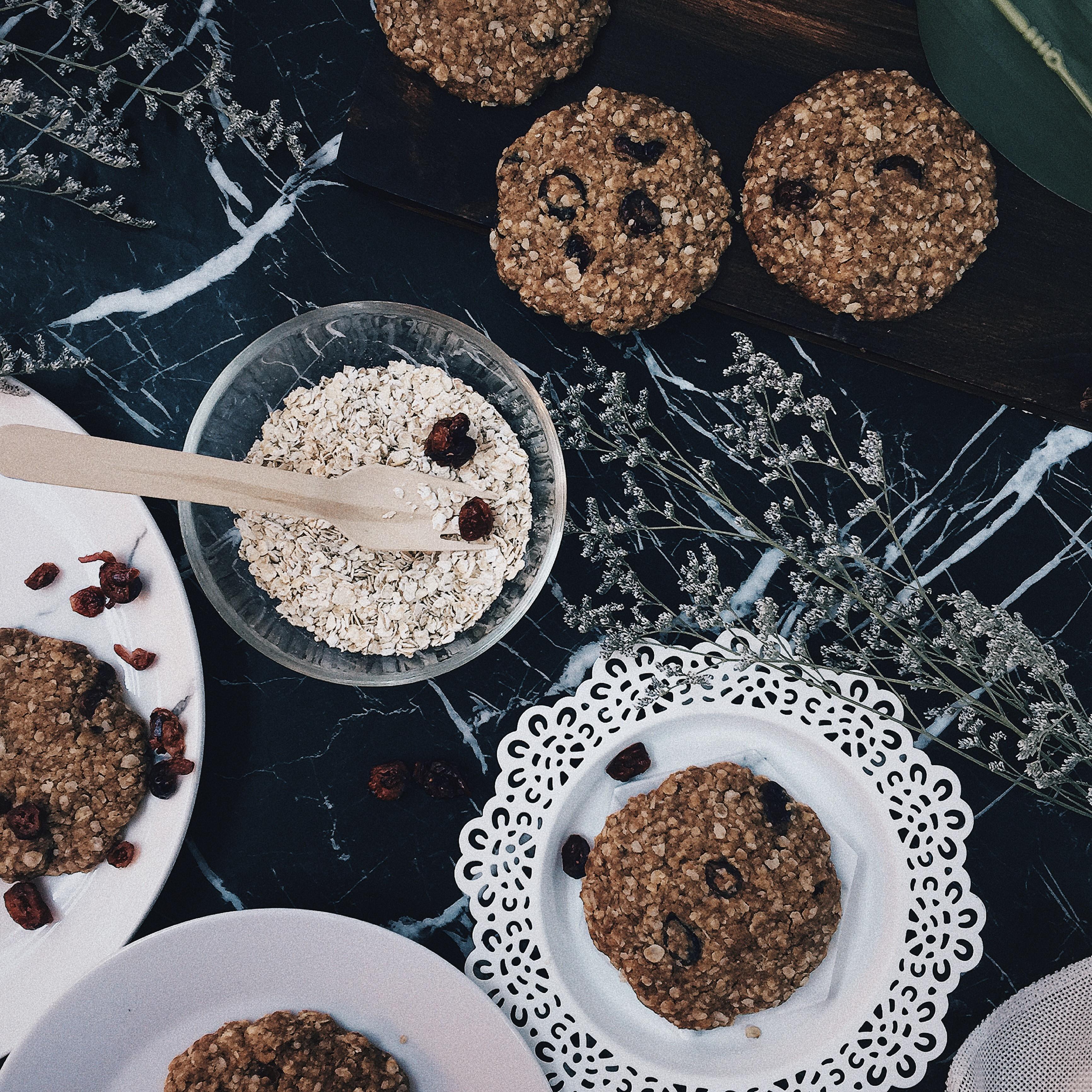 Diabetic Friendly Oatmeal Cookies  Oatmeal Cranberry Cookies – Box of 10 pcs vegan diabetes