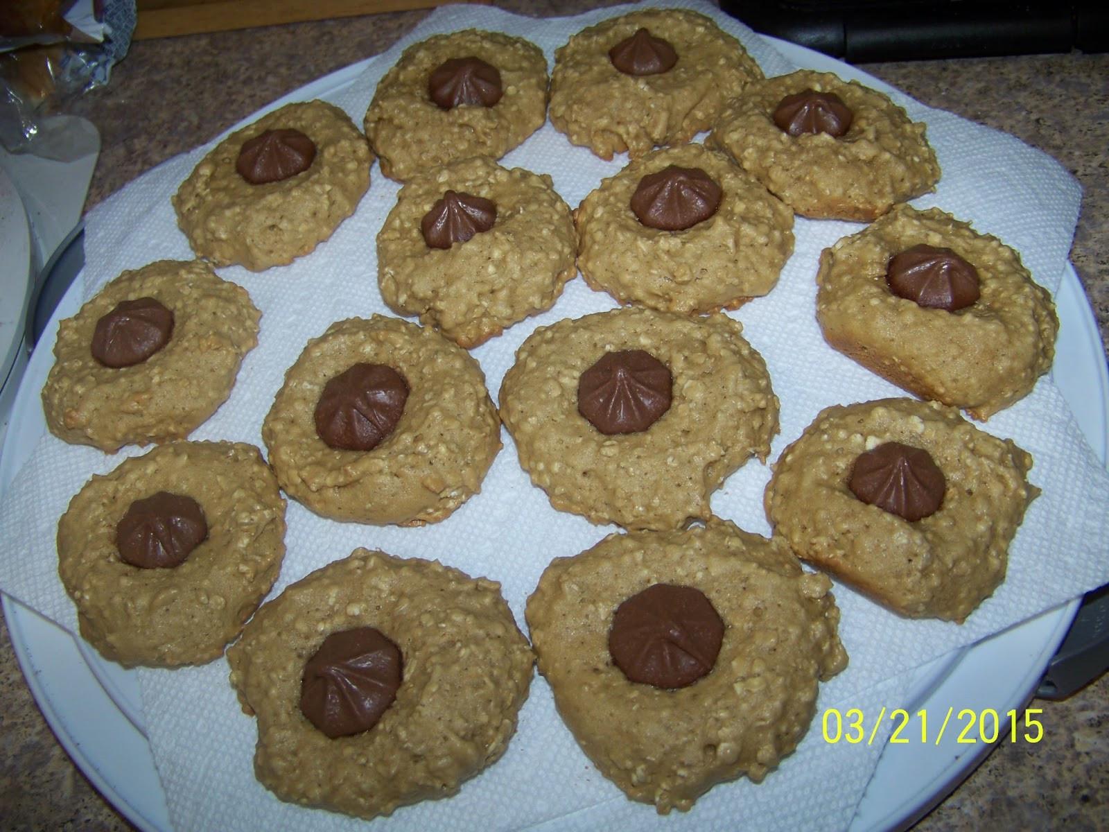 Diabetic Friendly Oatmeal Cookies  FoodOhLicious Chocolate STAR Oatmeal Cookies Diabetic