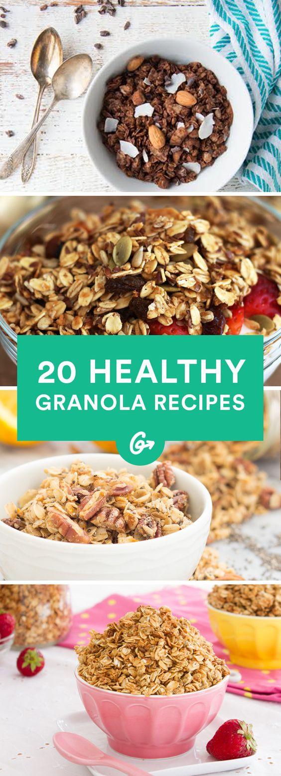 Diabetic Granola Bar Recipes  20 Homemade Granola Recipes That Are Actually Healthy