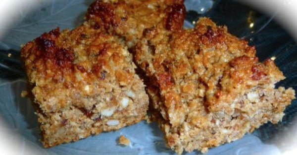 Diabetic Granola Bar Recipes  Diabetic Friendly Snack Recipe Nut Bar A healthy snack