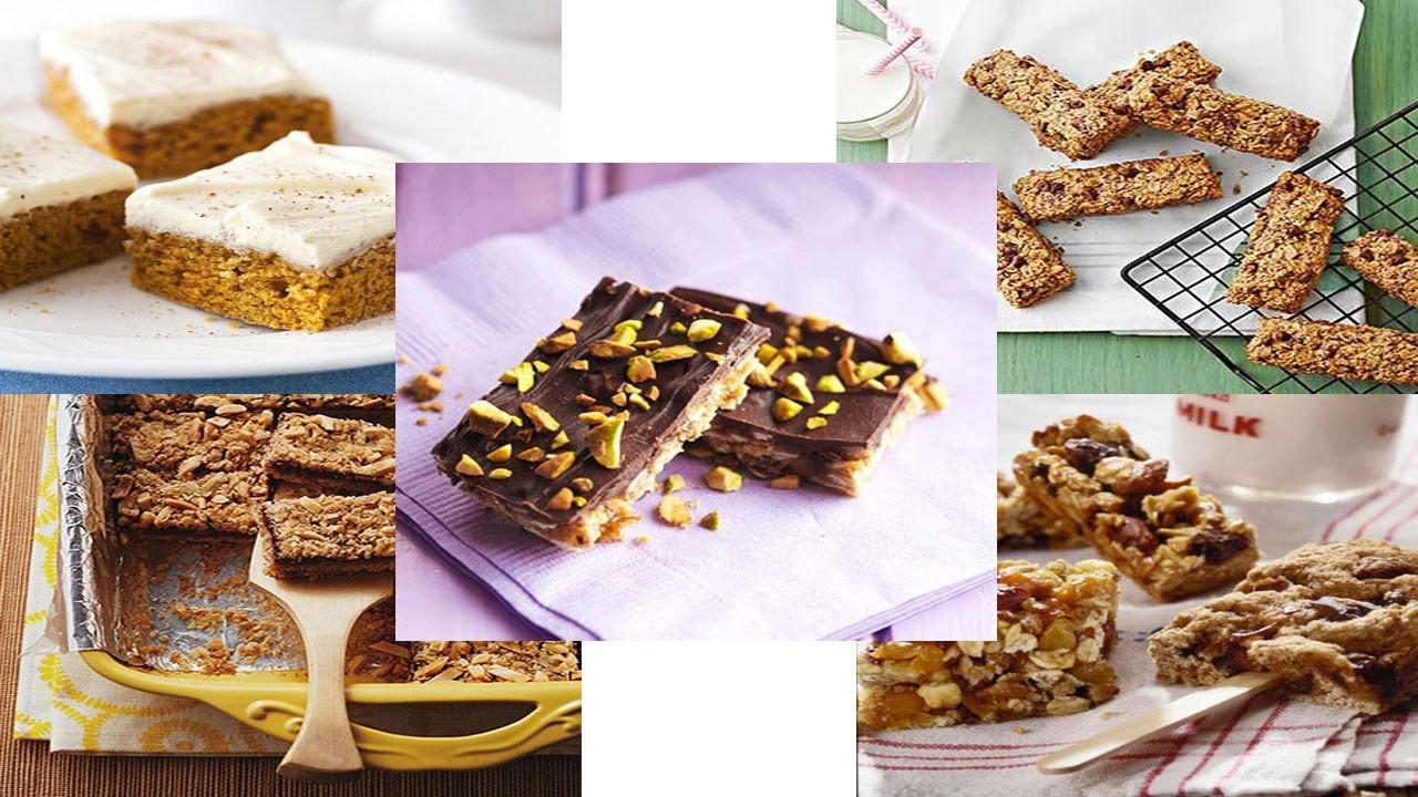 Diabetic Granola Bar Recipes  Top 5 Diabetic Snack Bars Recipes Easy