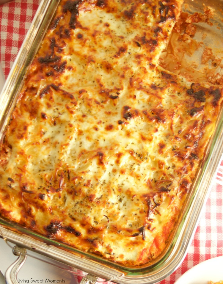 Diabetic Lasagna Recipes  Diabetic Lasagna Recipe Living Sweet Moments