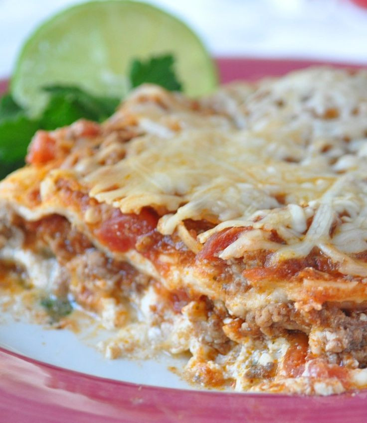 Diabetic Lasagna Recipes  Favorite easy scrumptous Mexican Lasagna Perfect when