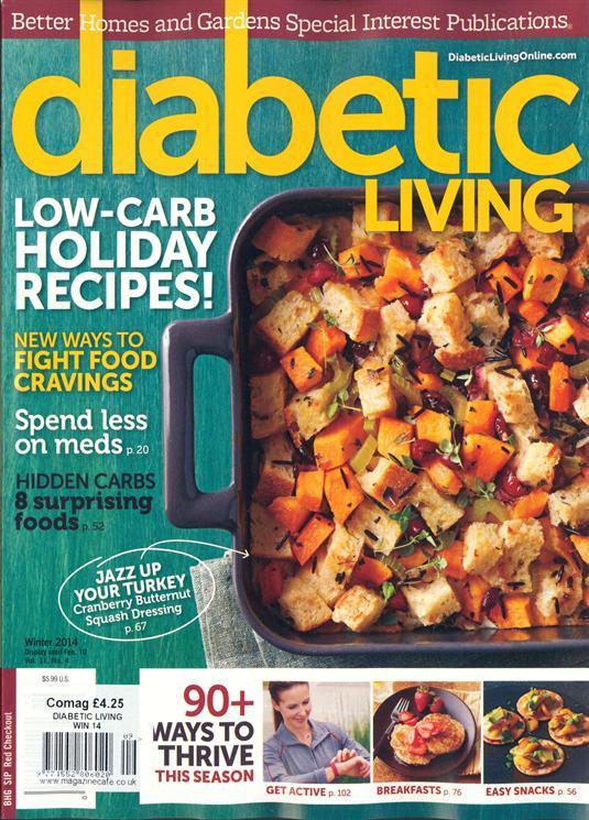 Diabetic Living Magazine Recipes  Buy Diabetic Living Magazine Denmark