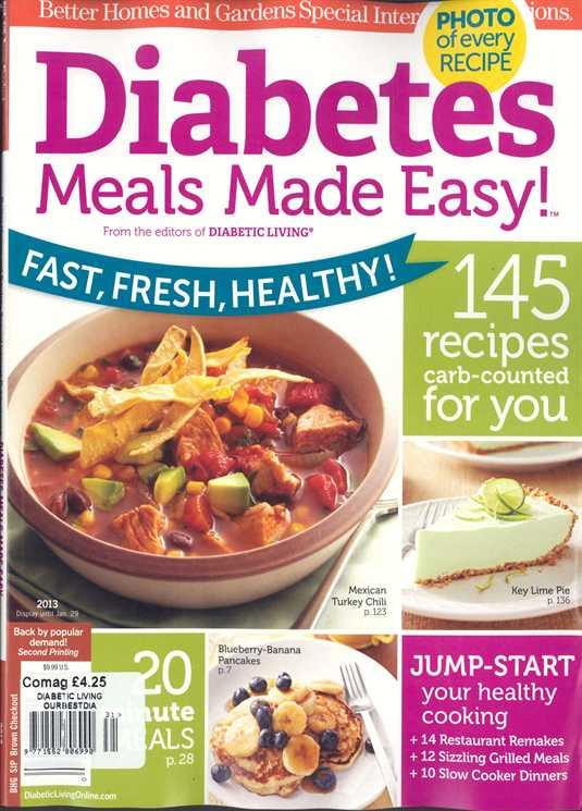 Diabetic Living Magazine Recipes  Diabetic Living Magazine Subscription