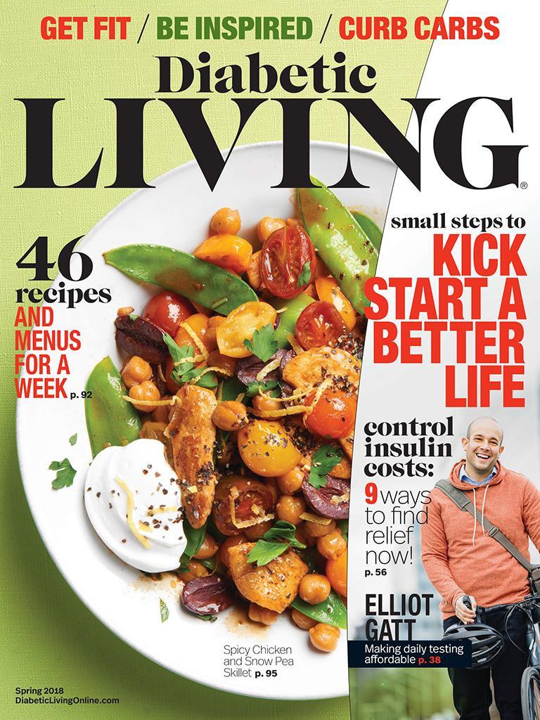 Diabetic Living Magazine Recipes  Diabetic Living Magazine Spring 2018 Edition Texture