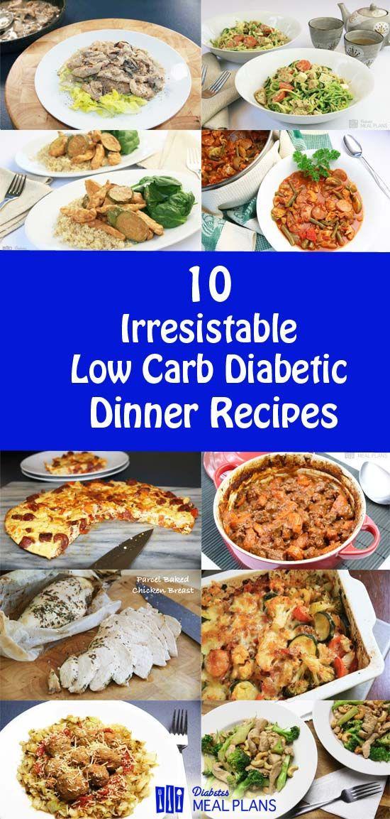 Diabetic Menu Recipes  551 best Diabetes Meal Plans Blog images on Pinterest