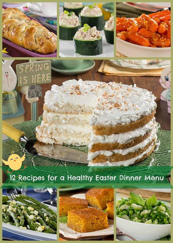 Diabetic Menu Recipes  12 Recipes for a Healthy Easter Dinner Menu