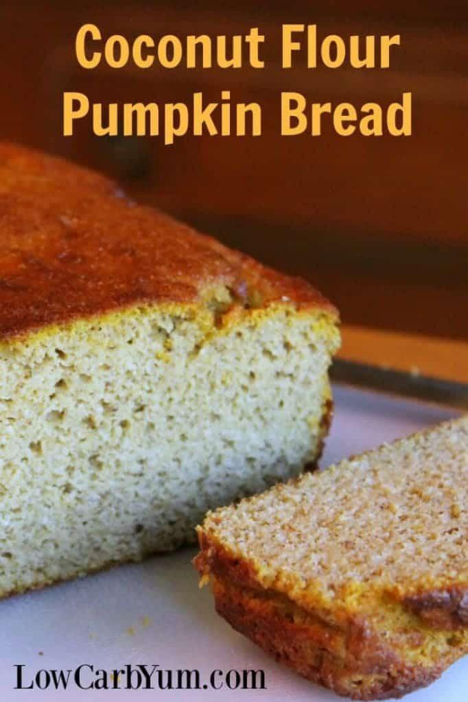 Diabetic Pumpkin Bread  Better Coconut Flour Pumpkin Bread Gluten Free