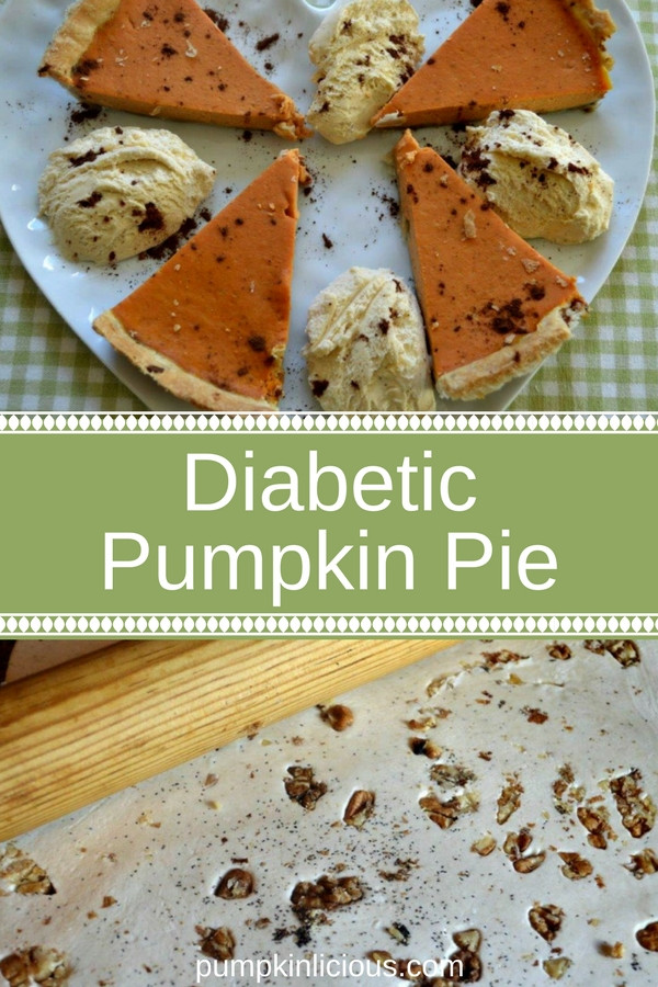 Diabetic Pumpkin Pie  Delicious Diabetic Pumpkin Pie Pumpkinlicious