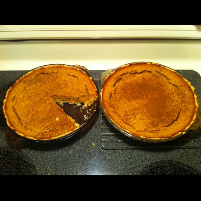 Diabetic Pumpkin Pie  Diabetic Pumpkin Pie