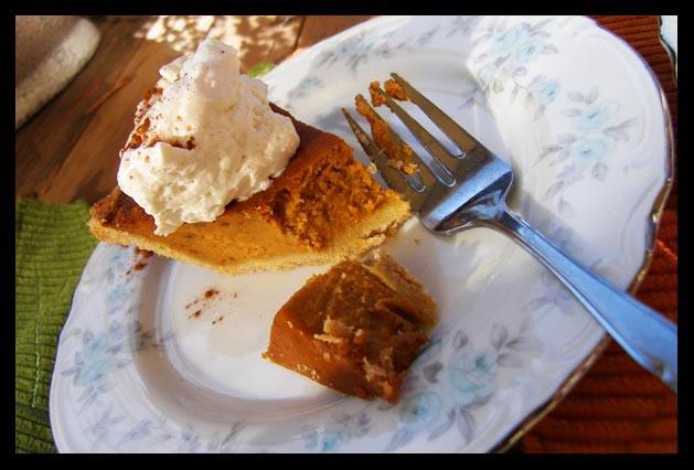 Diabetic Pumpkin Pie  Simple Spoonful Healthy Christmas Dinner–Success