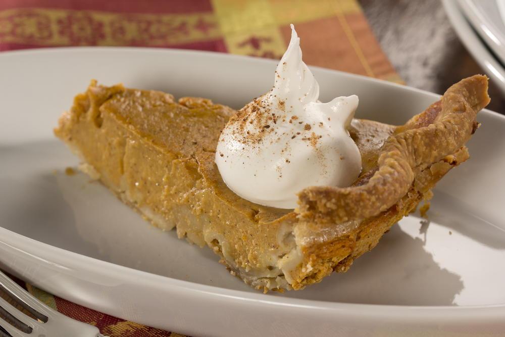 Diabetic Pumpkin Pie  Lightened Up Pumpkin Pie