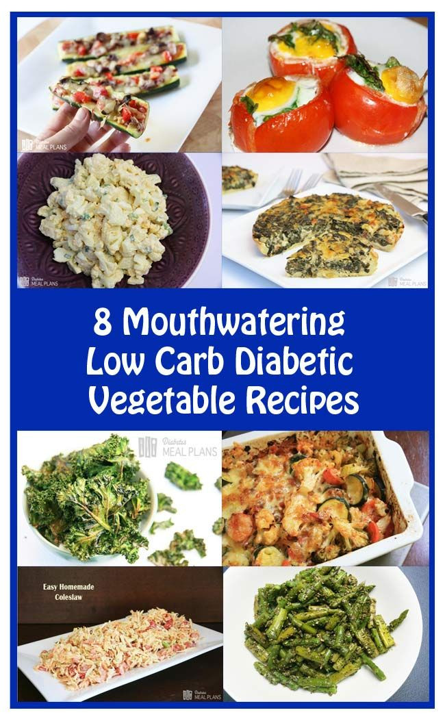 Diabetic Recipes Blog  8 Mouthwatering Low Carb Diabetic Ve able Recipes