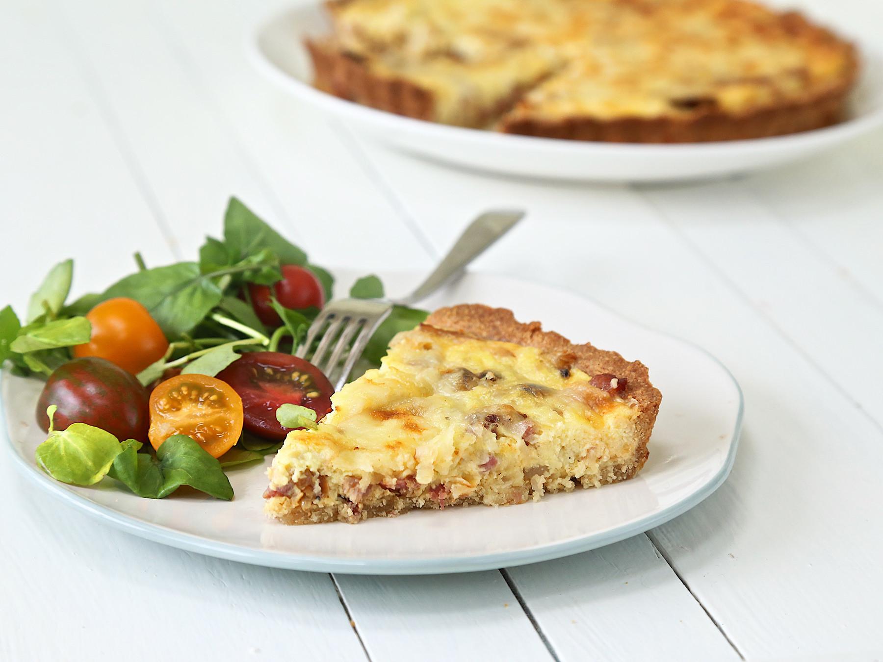 Diabetic Recipes Blog  Diabetic Quiche Lorraine Recipe