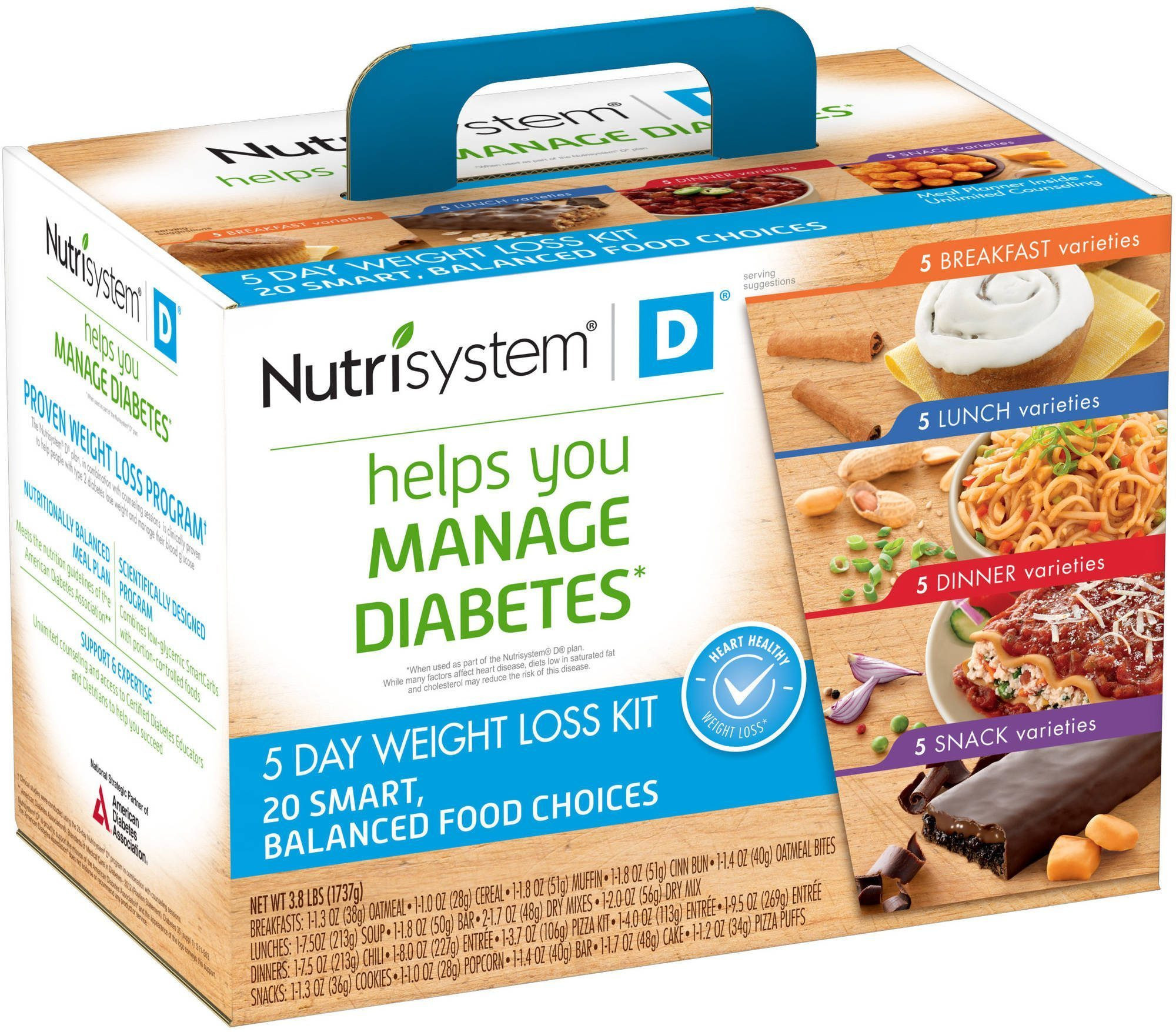 Diabetic Recipes For Weight Loss  Nutrisystem D for Diabetics Reviews & Cost [2018] Does it
