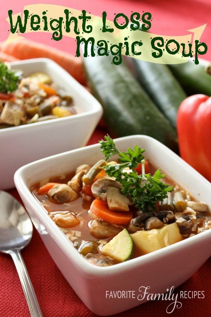 Diabetic Recipes For Weight Loss  Weight Loss Magic Soup – Recipes for Diabetes Weight Loss